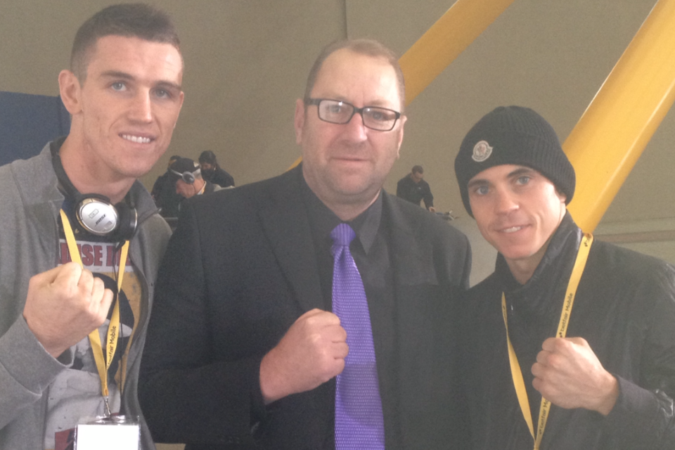 Calum Smith and Scott Quigg
